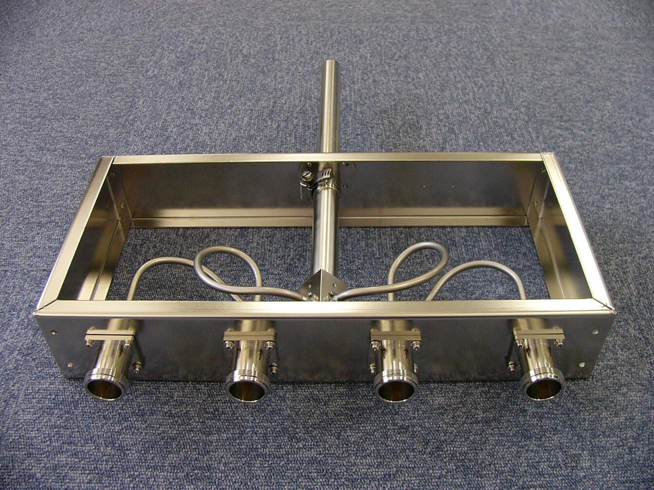 VHF帯 SPコネクタ入力端子 4合成器(出力端子WX-20DNF)