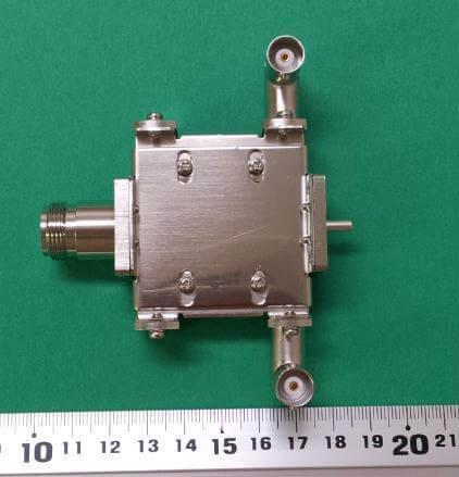 FM帯フィルタ出力2モニタ(通過電力150W)