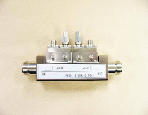 N形入出力進行・反射モニター方向性結合器